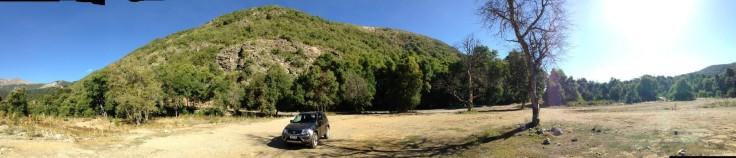 Chile mounains open space - I