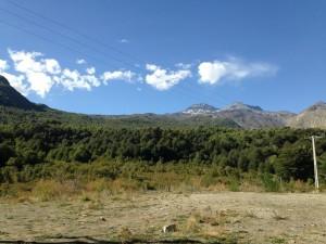 Chile mounains open space - II