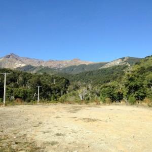 Chile mounains open space - III