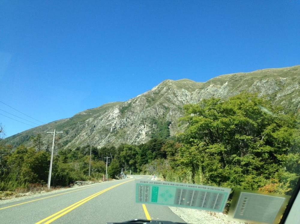 Chile mountains - I