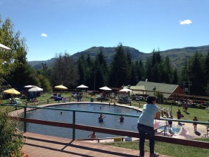 Chile mountains thermal bath - I