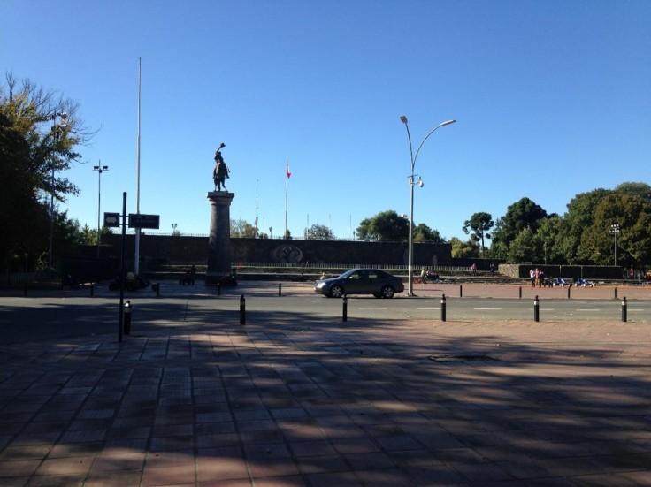 Chillán Viejo Statue