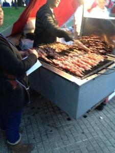 Fiesta de la Vendimia - more meat I